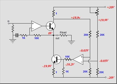 transistor lifier works low dissipation se class a