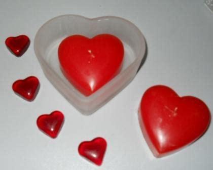 candele cuore candela cuore x 2 con vetro san michele di ganzaria