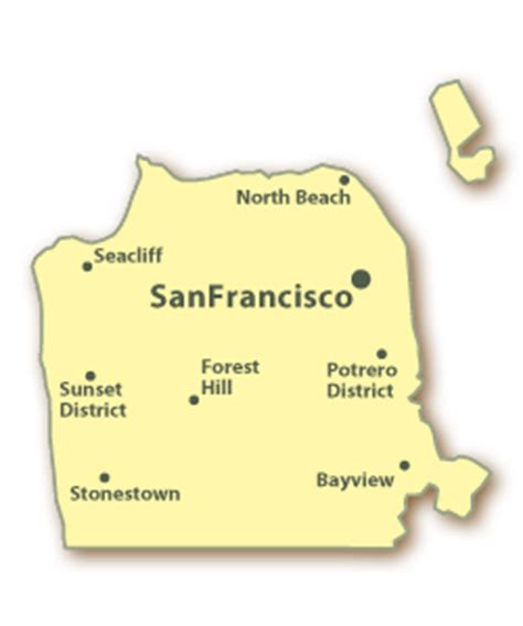 san francisco county map california san francisco county real estate homes for