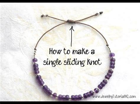 how to tie a bead bracelet 17 best images about knots not just knots but jewelery