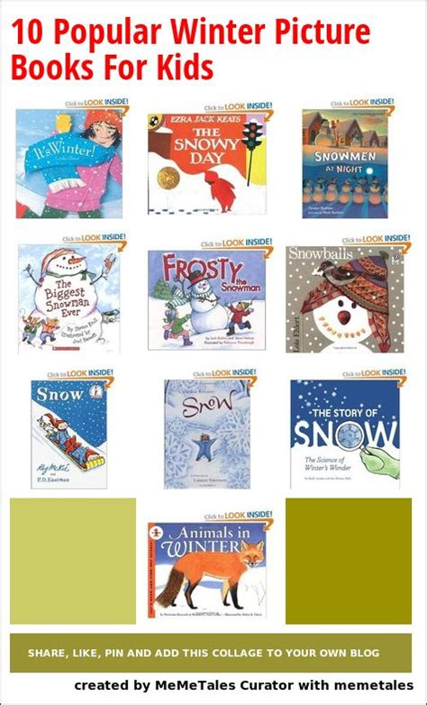 winter picture books 10 popular winter picture books for the children s
