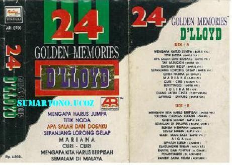 album lagu dlloyd golden memories d lloyd 20 october 2012 pelestari
