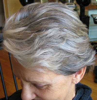 adding lowlights to white hair 17 best gray hair styles images on pinterest short bobs