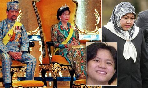 azizi as a marriage bureau owner 12 07 2012 sultan of brunei s ex admits reckless sprees