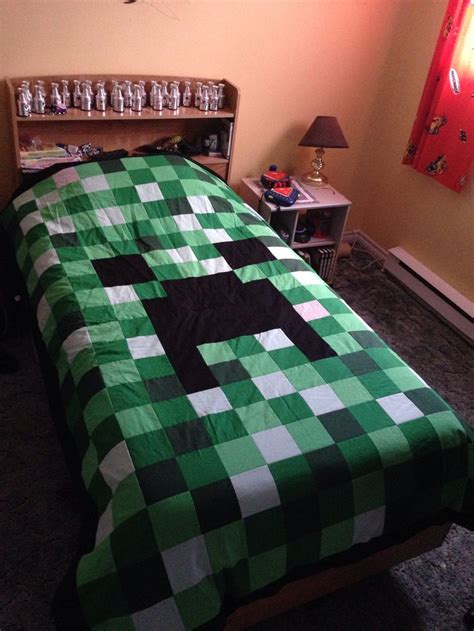 Minecraft Quilt Cover by 17 Best Images About Needle Work On