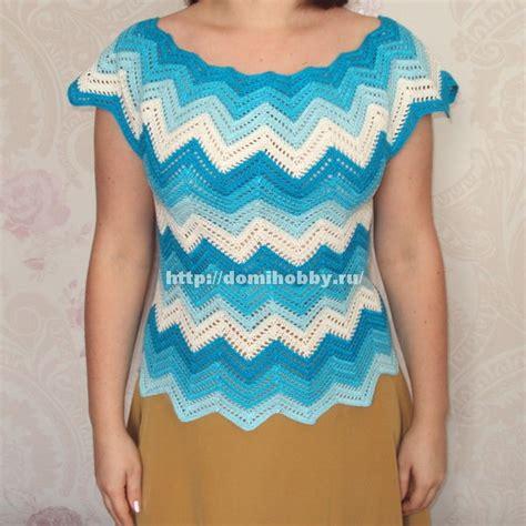 blusa crochet zigzag paso paso como tejer una blusa en crochet apexwallpapers com