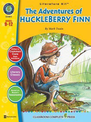 the adventures of huckleberry finn series 1 novel study guides series 183 overdrive rakuten overdrive