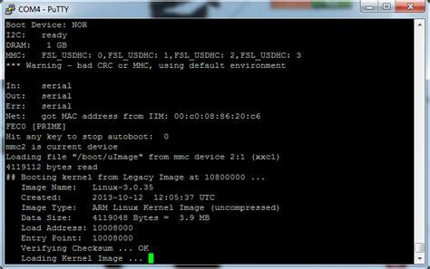 tutorial minicom linux tutorial connecting via serial cable