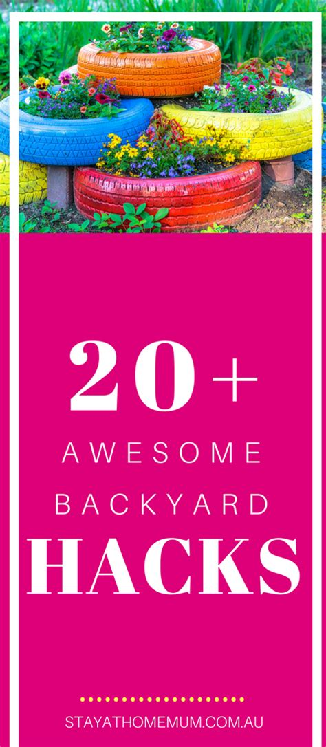 backyard hacks 20 awesome backyard hacks