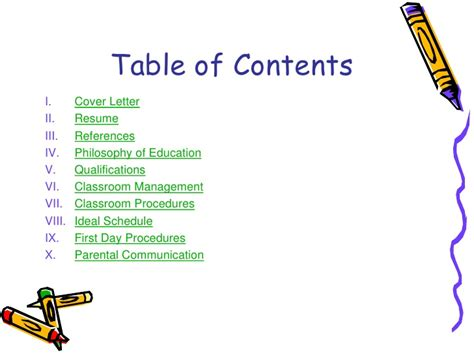 educational portfolio template teaching portfolio linked in