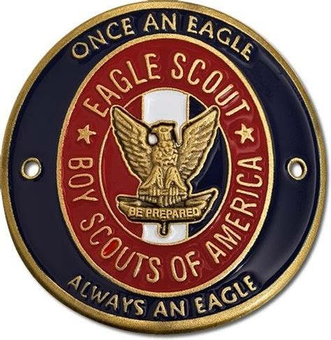 eagle scouts gifts new boy scout eagle scout hiking stick quot once an eagle always quot medallion 79083 ebay