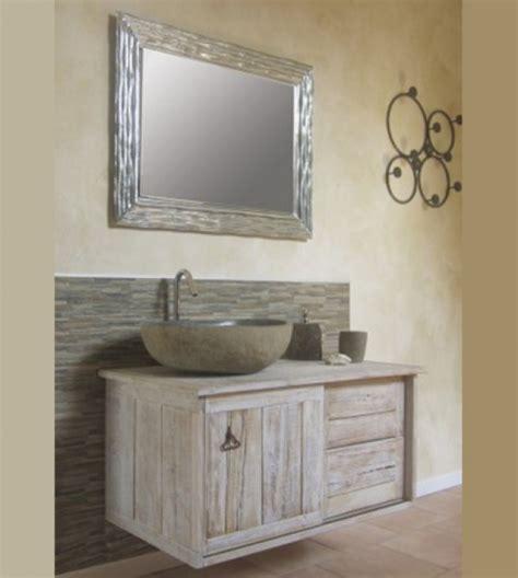 mobili da bagno rustici mobile bagno sospeso rustico vecchie travi misura cm 100