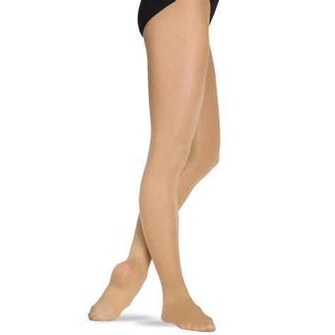 capezio light suntan stirrup tights capezio ultra soft footless tight 1817