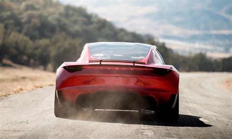 tesla supercar new tesla roadster fastest production car ever in