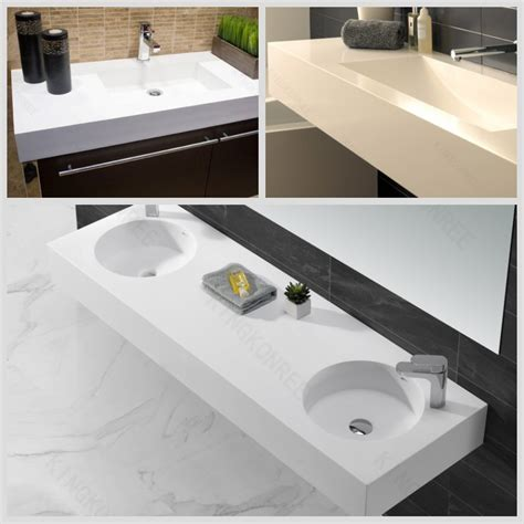 solid surface bathroom sinks and countertops restaurant white table tops marble look kkr solid surface
