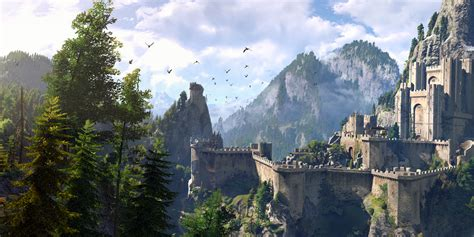 the witcher 3 wild hunt landscape witcher 3 wild hunt requires 50gb hard drive space to
