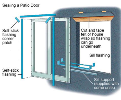 installing a patio door how to install house doors diy