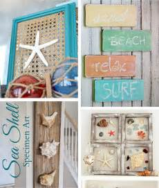 Nautical Themed Living Room Furniture - 29 beach crafts coastal diy wall art