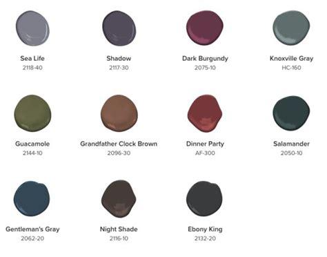 benjamin moore colors 2017 benjamin moore 2017 color palette deeper hues 2018