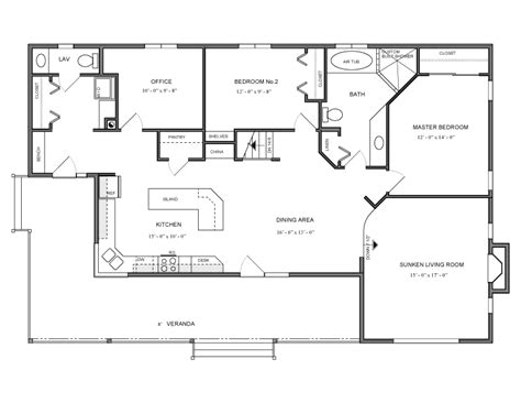 1600 sq ft floor plans 1600 square foot bungalow house plans house design plans