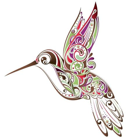 simple hummingbird stencil www imgkid com the image
