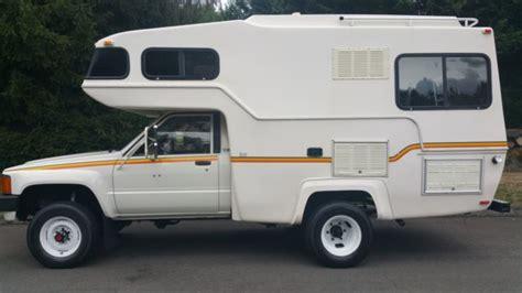 toyota motorhome 4x4 1984 toyota motorhome 4x4 22r 5spd sunrader 21ft 63