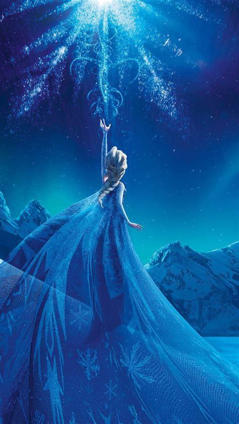 wallpaper for iphone queen magical frozen queen elsa iphone 6 plus wallpaper 2014