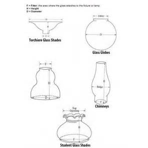 Wall Sconce Replacement Parts Chimneys Glass Shades Glass Shades And Glass Light Parts