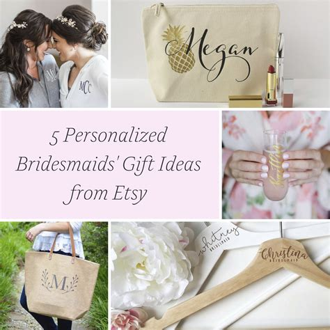 personalized gifts ideas 5 personalized bridesmaids gift ideas 187 hill city bride
