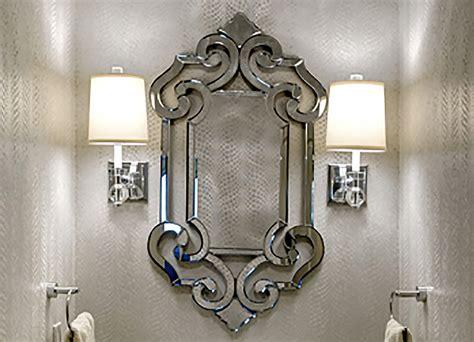 Alejandro Home Design Kansas City leawood jewel box powder room interior design in kansas