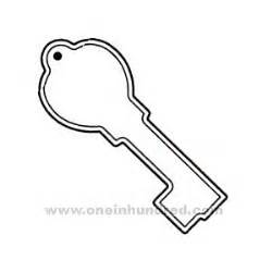 key outline coloring page best photos of skeleton key template printable key