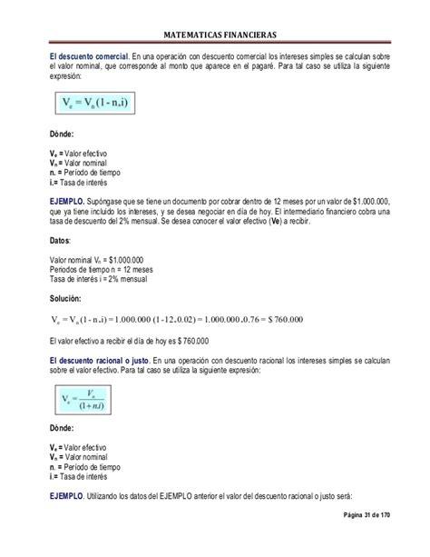 descuento comercial enciclopedia financiera matematicas financieras para principiantes14