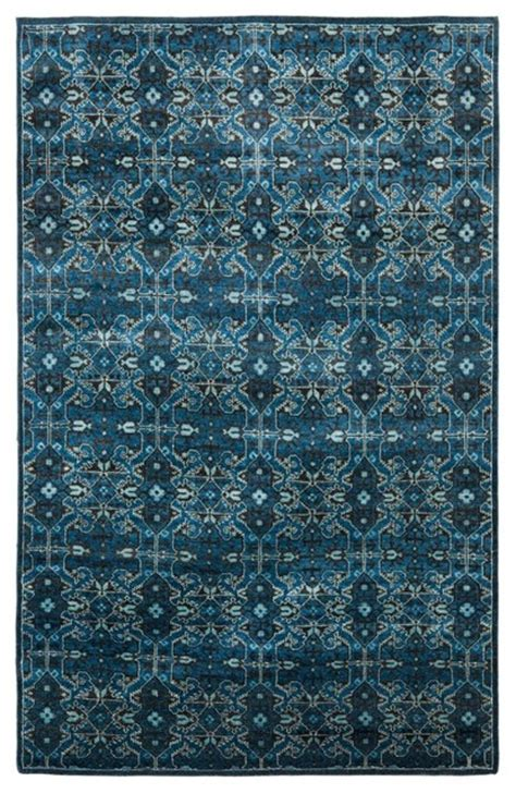 Traditional Rugs Blue by Ralph Sheldon Cape Blue Traditional Rugs
