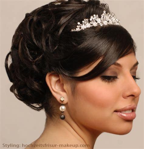 Hochzeitsfrisur Und Make Up by Brautmakeup Bild Foto Hochzeitsfrisur Makeup Aus