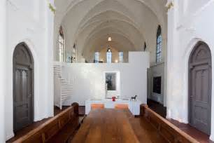 church turned into house church conversion into a residence in utrecht by zecc yatzer