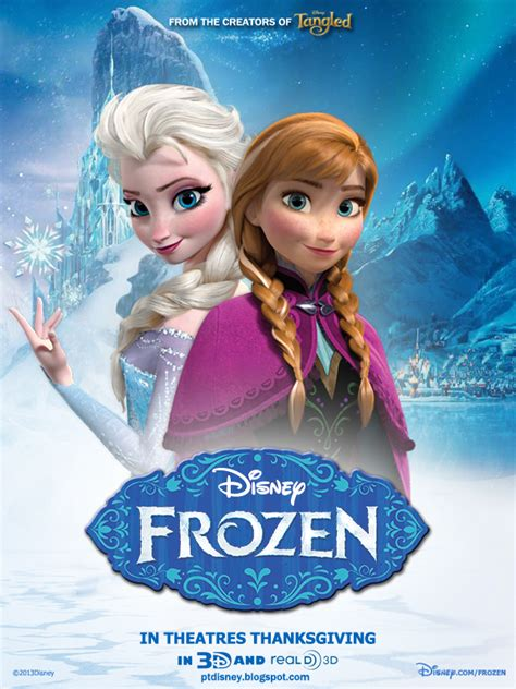 frozen film poster frozen poster fan made frozen photo 34983917 fanpop