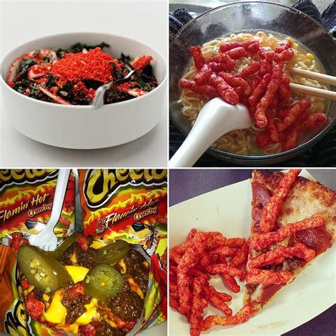 hot chips ingredients flamin hot cheetos recipes popsugar food