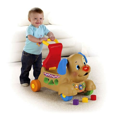 fisher price laugh and learn stride to ride puppy laugh learn 174 stride to ride 174 puppy