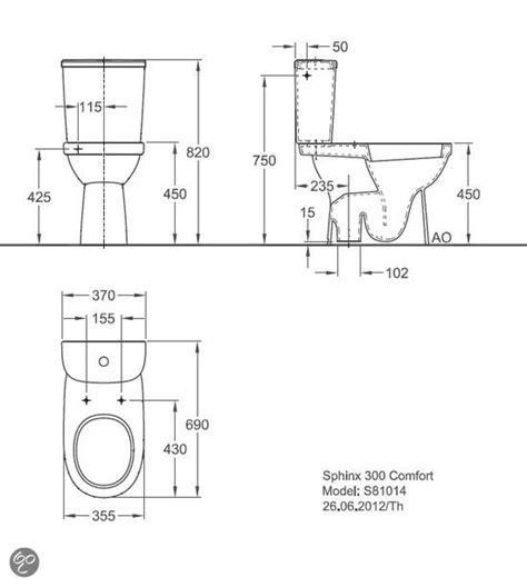 Sphinx Toilet 450 by Bol Sphinx Toiletpot Serie 300 Comfort Klussen