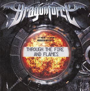 dragonforce through the fire and flames long version through the fire and flames wikipedia