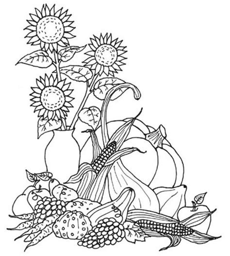 thanksgiving coloring pages allkidsnetwork com