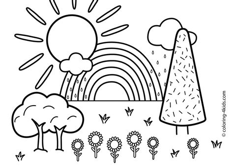 coloring pages with nature free printable nature coloring pages for kids best