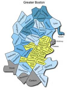 Greater Boston Map greater boston massachusetts home values and market report