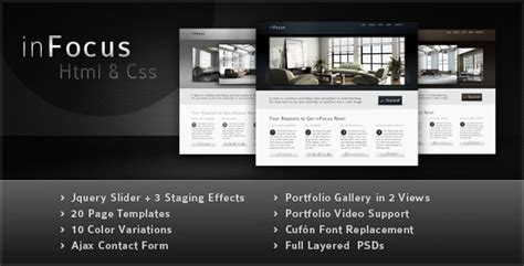 buy professional website templates premium themes