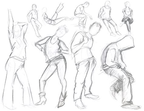 Drawing Figures by Ashcan Sketches