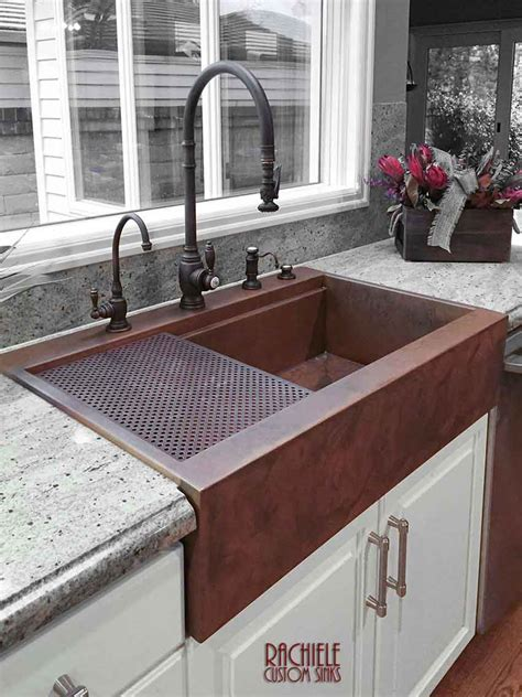 top mount farmhouse sink retrofit copper apron farmhouse sinks top mount or