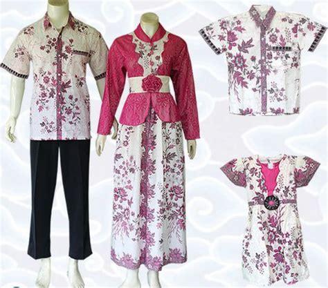 Baju Batik 18 10 Model Baju Batik Keluarga Modern Terbaru 2018