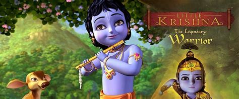 cartoon film of krishna little krishna the legendary warrior english cartoon