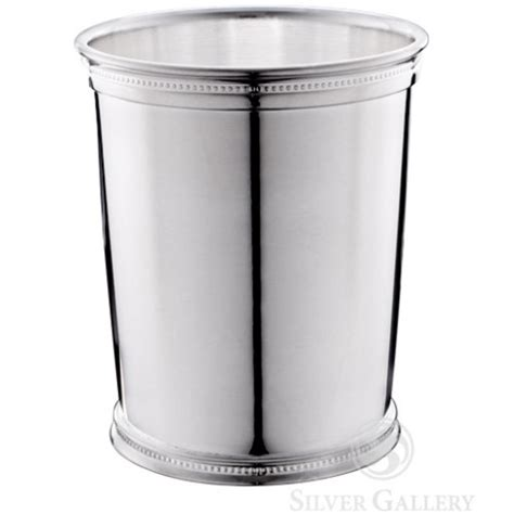 reed and barton barware reed and barton silverplate kentucky beaded mint julep cup