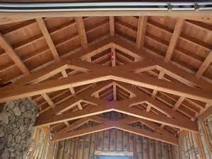 vaulted ceiling design and trusses design studio